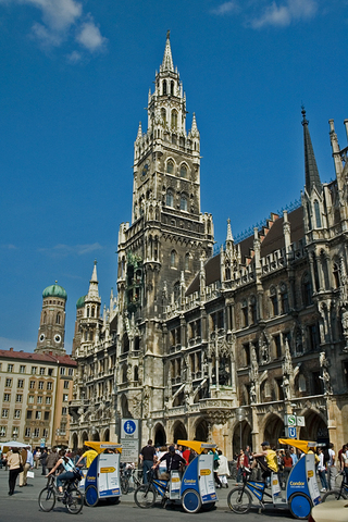 Munich's old Gothic  