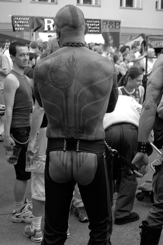 Leather festival in Berlin, 2005